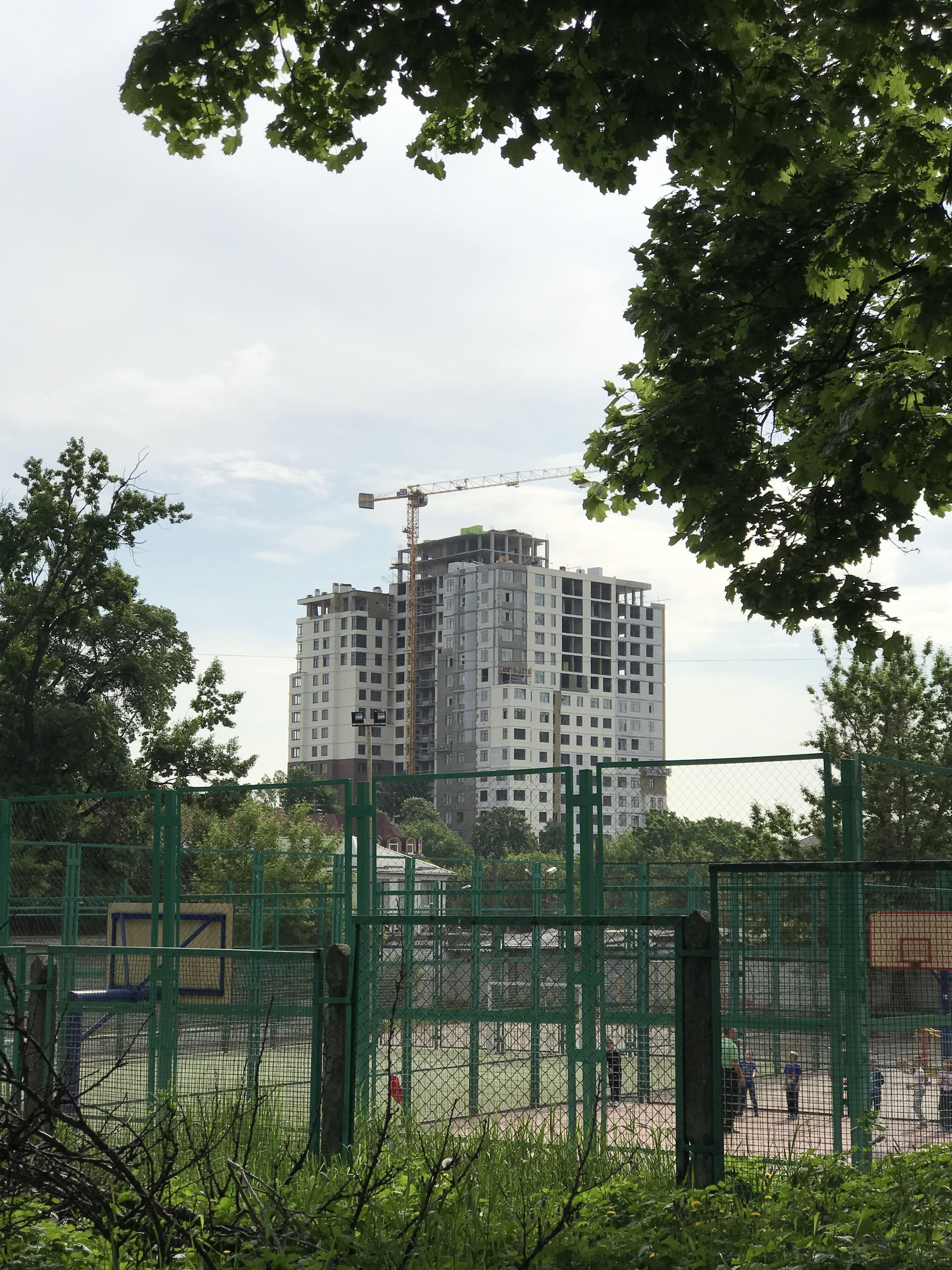 Хронология строительства